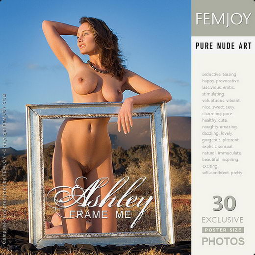 Ashley - `Frame Me` - by Stefan Soell for FEMJOY