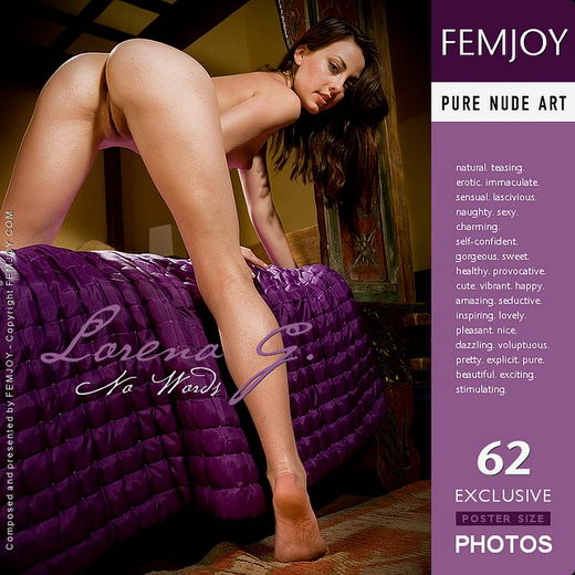 Lorena G - `No Words` - by Demian Rossi for FEMJOY