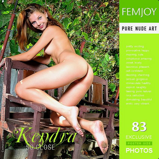 Kendra - `So Close` - by Tom Leonard for FEMJOY
