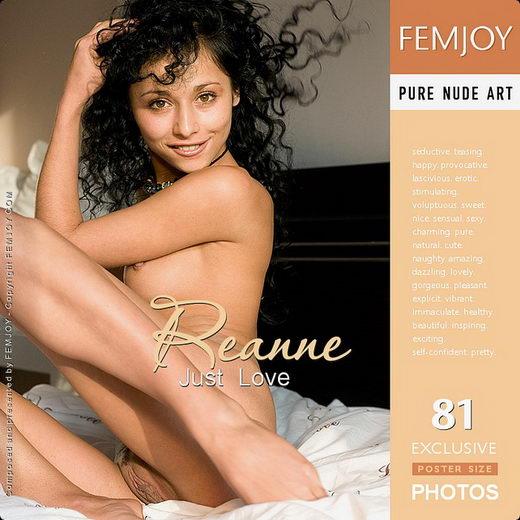 Reanne - `Just Love` - by Nikonov for FEMJOY