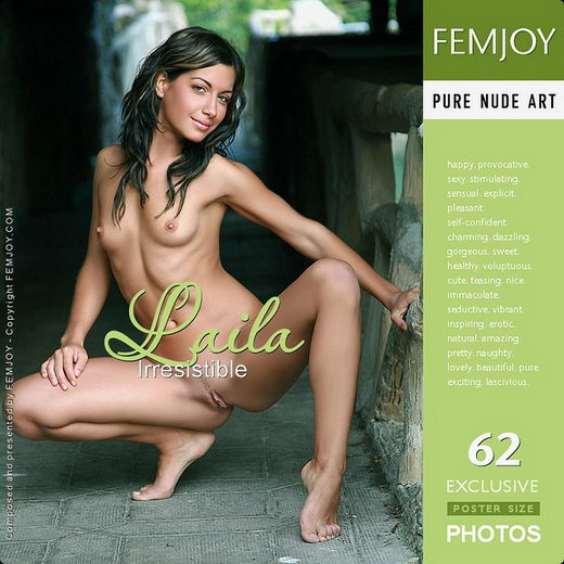 Laila - `Irresistible` - by Tom Rodgers for FEMJOY