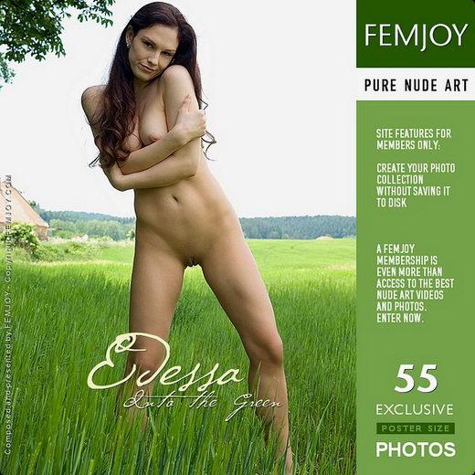 Edessa - `Into The Green` - by Lorenzo Renzi for FEMJOY