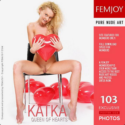 Katka - `Queen Of Hearts` - by Paolo Carlos for FEMJOY