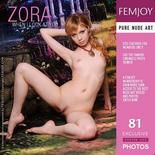 Zora - `When I Look At You` - by Tom Leonard for FEMJOY