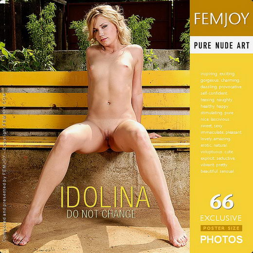 Idolina - `Do Not Change` - by Tom Leonard for FEMJOY