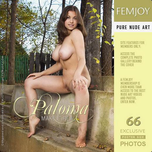 Paloma - `Make It Real` - by Tom Leonard for FEMJOY