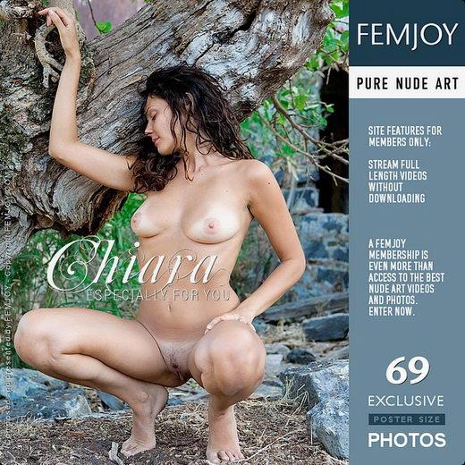 Chiara - `Especially For You` - by Lorenzo Renzi for FEMJOY