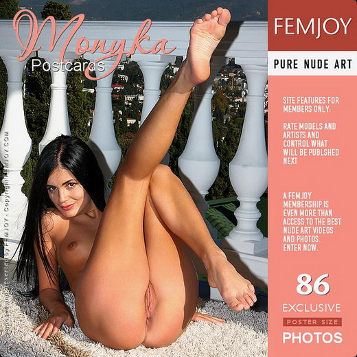 Monyka - `Postcards` - by Valery Anzilov for FEMJOY