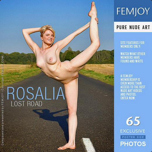 Rosalia - `Lost Road` - for FEMJOY