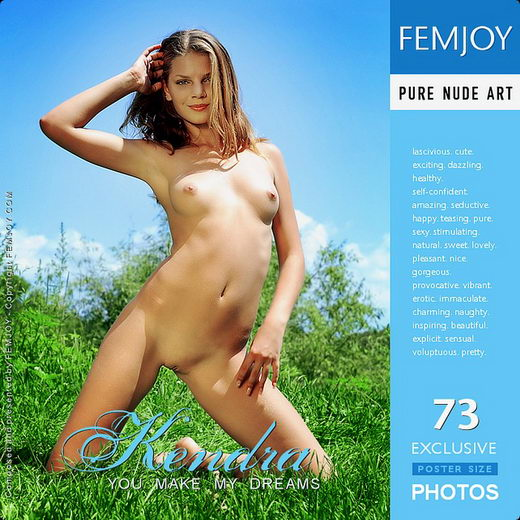 Kendra - `You Make My Dreams` - by Nudero for FEMJOY