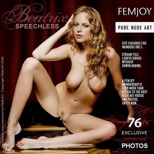Beatrix in Speechless gallery from FEMJOY by Pedro Saudek