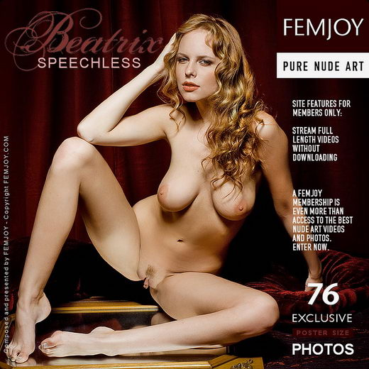 Beatrix - `Speechless` - by Pedro Saudek for FEMJOY