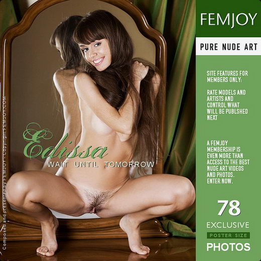 Edissa - `Wait Until Tomorrow` - by Marco Argutos for FEMJOY