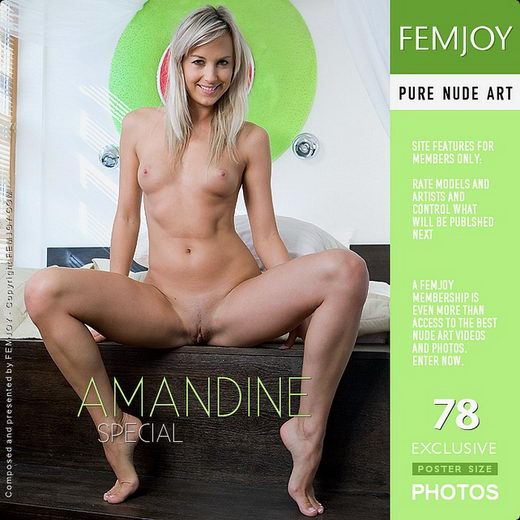 Amandine - `Special` - by Paolo Carlos for FEMJOY