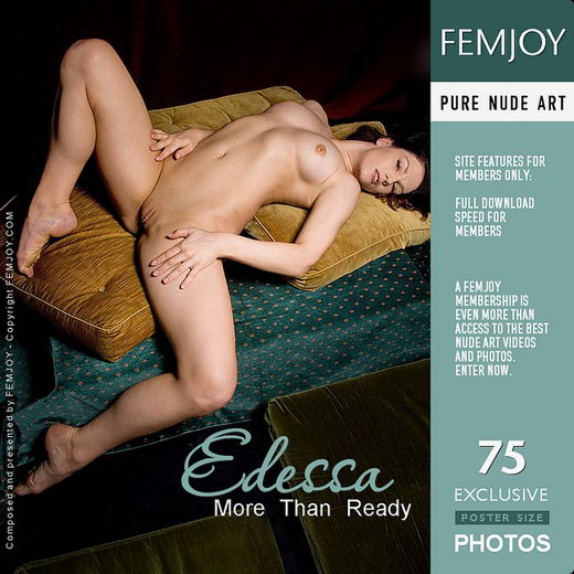 Edessa - `More Than Ready` - by Pedro Saudek for FEMJOY