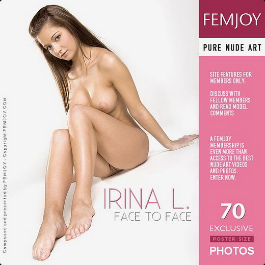 Irina L - `Face To Face` - by Pasha Lisov for FEMJOY