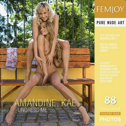Amandine & Kae - `Undress Me` - by Paolo Carlos for FEMJOY