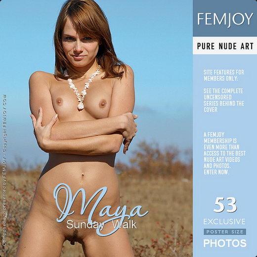 Maya - `Sunday Walk` - by Aztek for FEMJOY