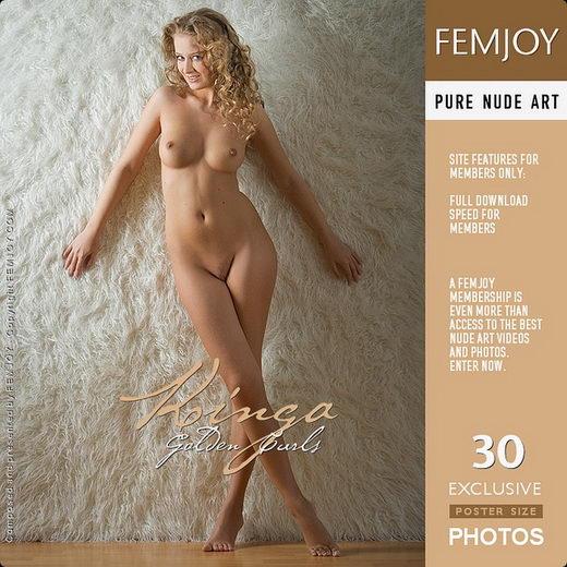 Kinga - `Golden Curls` - by Stefan Soell for FEMJOY