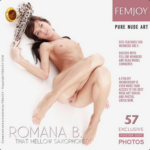 Romana B - `That Mellow Saxophone` - by Kate Orlova for FEMJOY