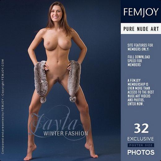 Jayla - `Winter Fashion` - by Stefan Soell for FEMJOY