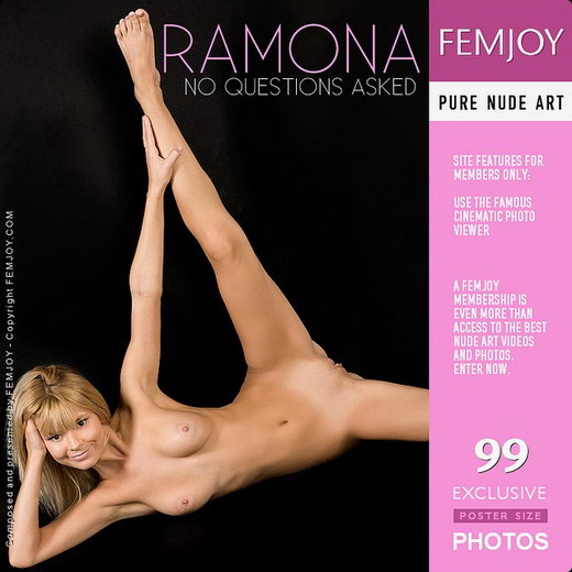 Ramona - `No Questions Asked` - for FEMJOY