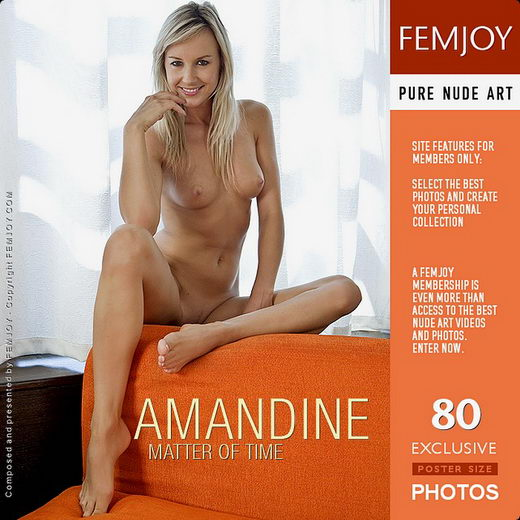 Amandine - `Matter Of Time` - by Paolo Carlos for FEMJOY