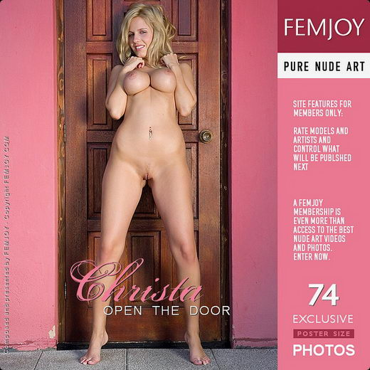 Christa - `Open The Door` - by Matteo Bosco for FEMJOY