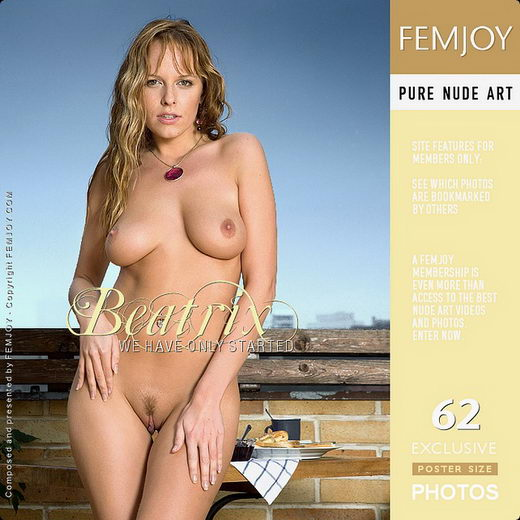 Beatrix - `We Have Only Started` - by Lorenzo Renzi for FEMJOY