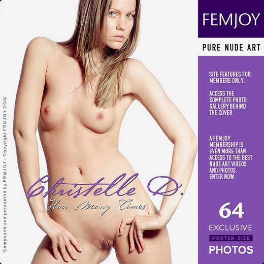 Christelle D - `How Many Times` - by Pedro Saudek for FEMJOY