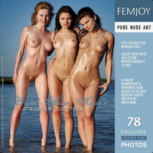 Anne & Birgid & Kirsten - `Stronger Together` - by Sven Wildhan for FEMJOY