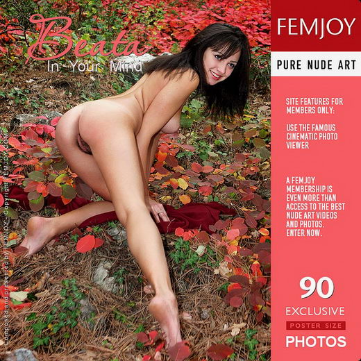 Beata - `In Your Mind` - by Valery Anzilov for FEMJOY