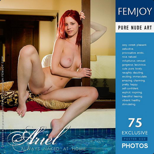 Ariel - `Always Naked At Home` - by Demian Rossi for FEMJOY