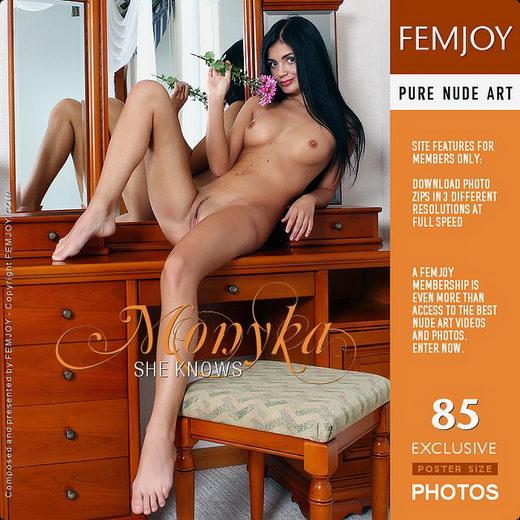 Monyka - `She Knows` - by Valery Anzilov for FEMJOY