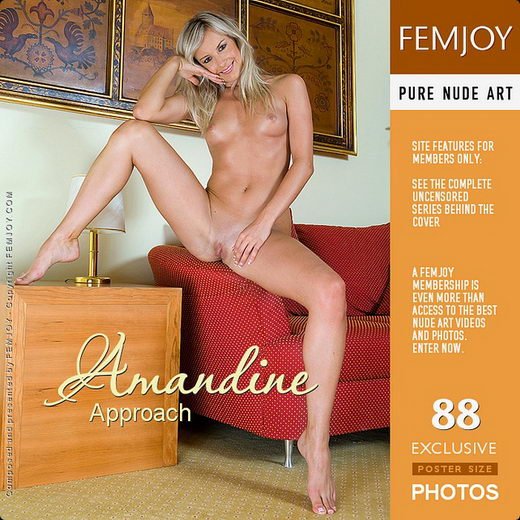 Amandine - `Approach` - by Paolo Carlos for FEMJOY