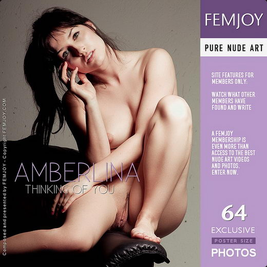 Amberlina - `Thinking Of You` - by Pedro Saudek for FEMJOY