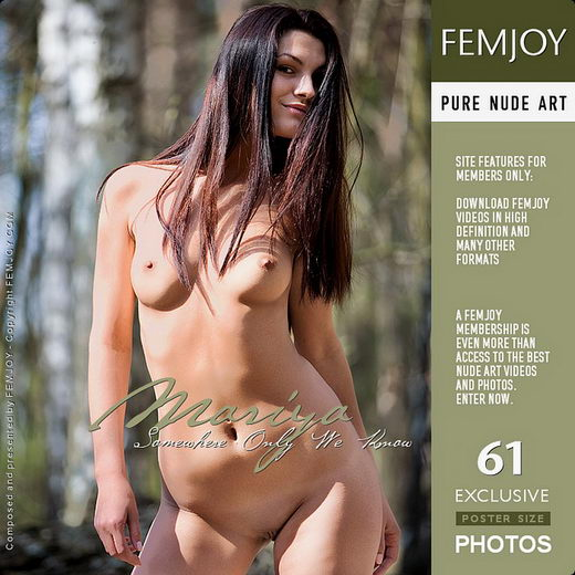 Mariya - `Somewhere Only We Know` - by Marco Argutos for FEMJOY
