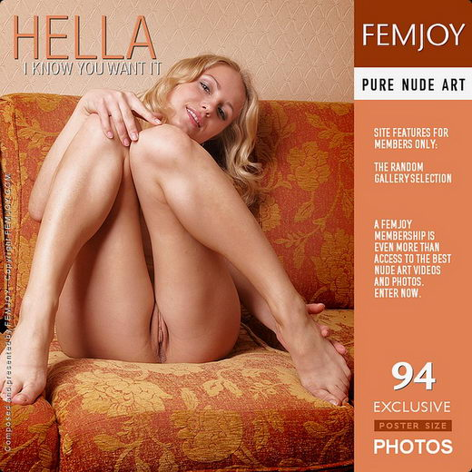 Hella - `I Know You Want It` - by Aztek for FEMJOY