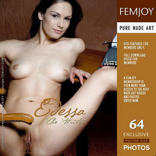 Edessa - `The Writer` - by Pedro Saudek for FEMJOY