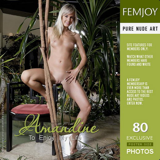 Amandine in To Enjoy My Life gallery from FEMJOY by Paolo Carlos