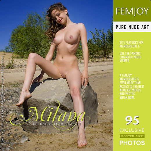 Milana - `As Long As I Can Resist It` - by Pasha Lisov for FEMJOY