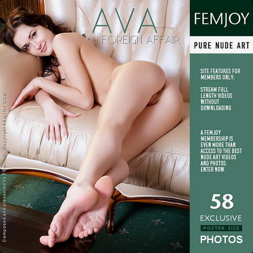 Ava - `Foreign Affair` - for FEMJOY