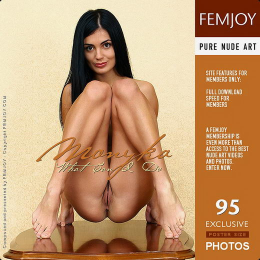 Monyka - `What Can I Do` - by Valery Anzilov for FEMJOY