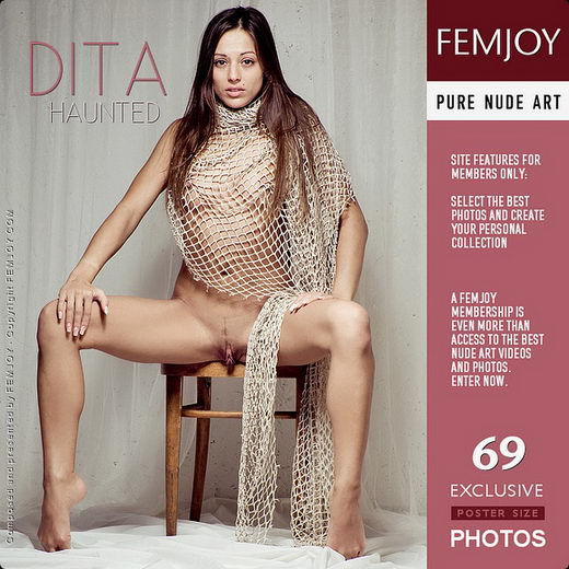 Dita - `Haunted ( wrong model name )` - by Pedro Saudek for FEMJOY