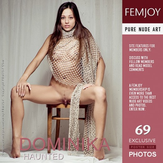 Dominika - `Haunted` - by Pedro Saudek for FEMJOY