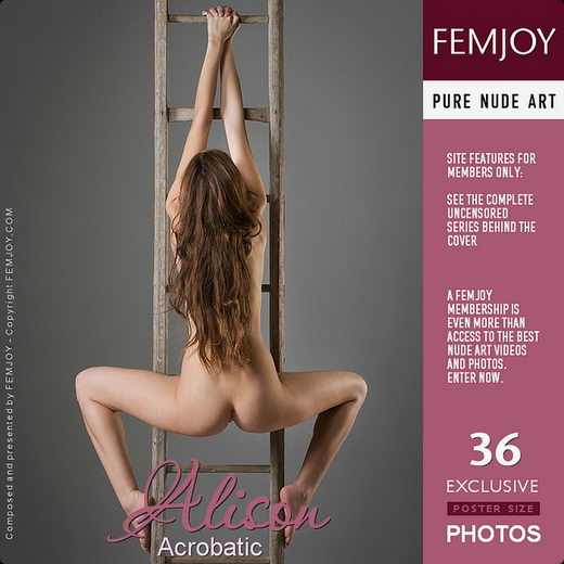 Alison - `Acrobatic` - by Stefan Soell for FEMJOY