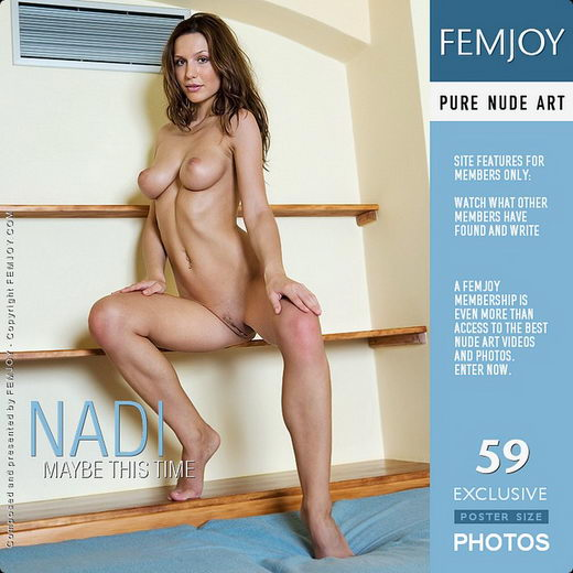 Nadi - `Maybe This Time` - by Matteo Bosco for FEMJOY
