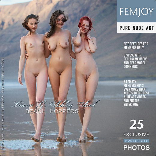 Ariel & Ashley & Lorena G - `Beach Hoppers` - by Stefan Soell for FEMJOY