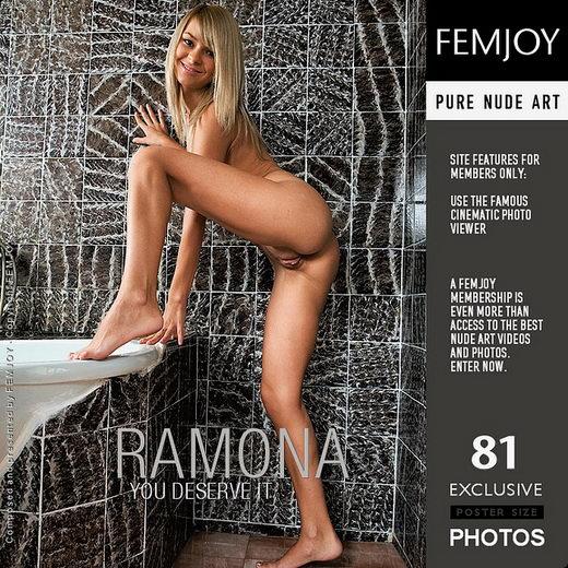 Ramona in You Deserve It gallery from FEMJOY