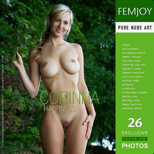 Corinna - `Happiness` - by Stefan Soell for FEMJOY